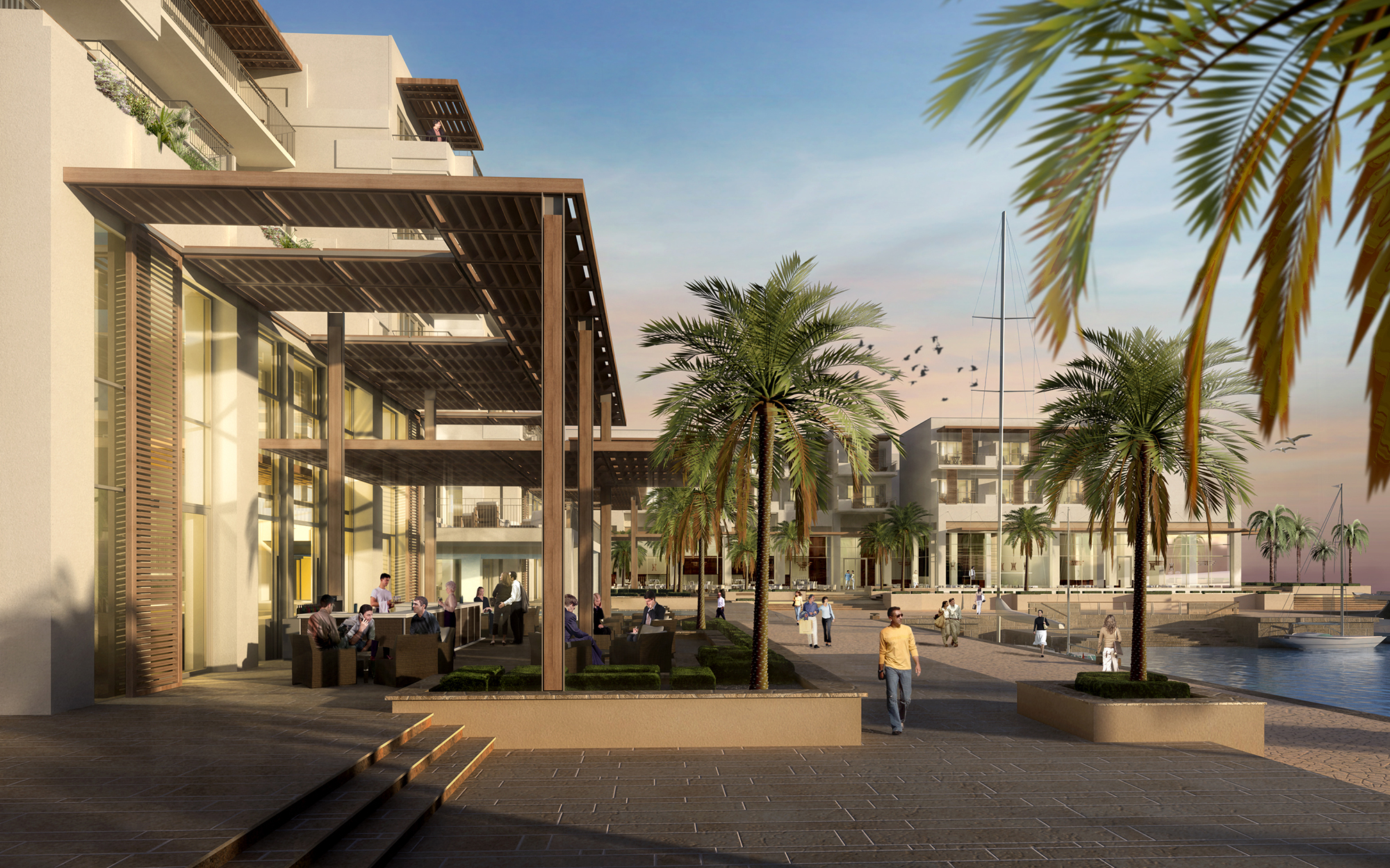 Lw design group palm island hotel dubai homebase2 for Design hotel group