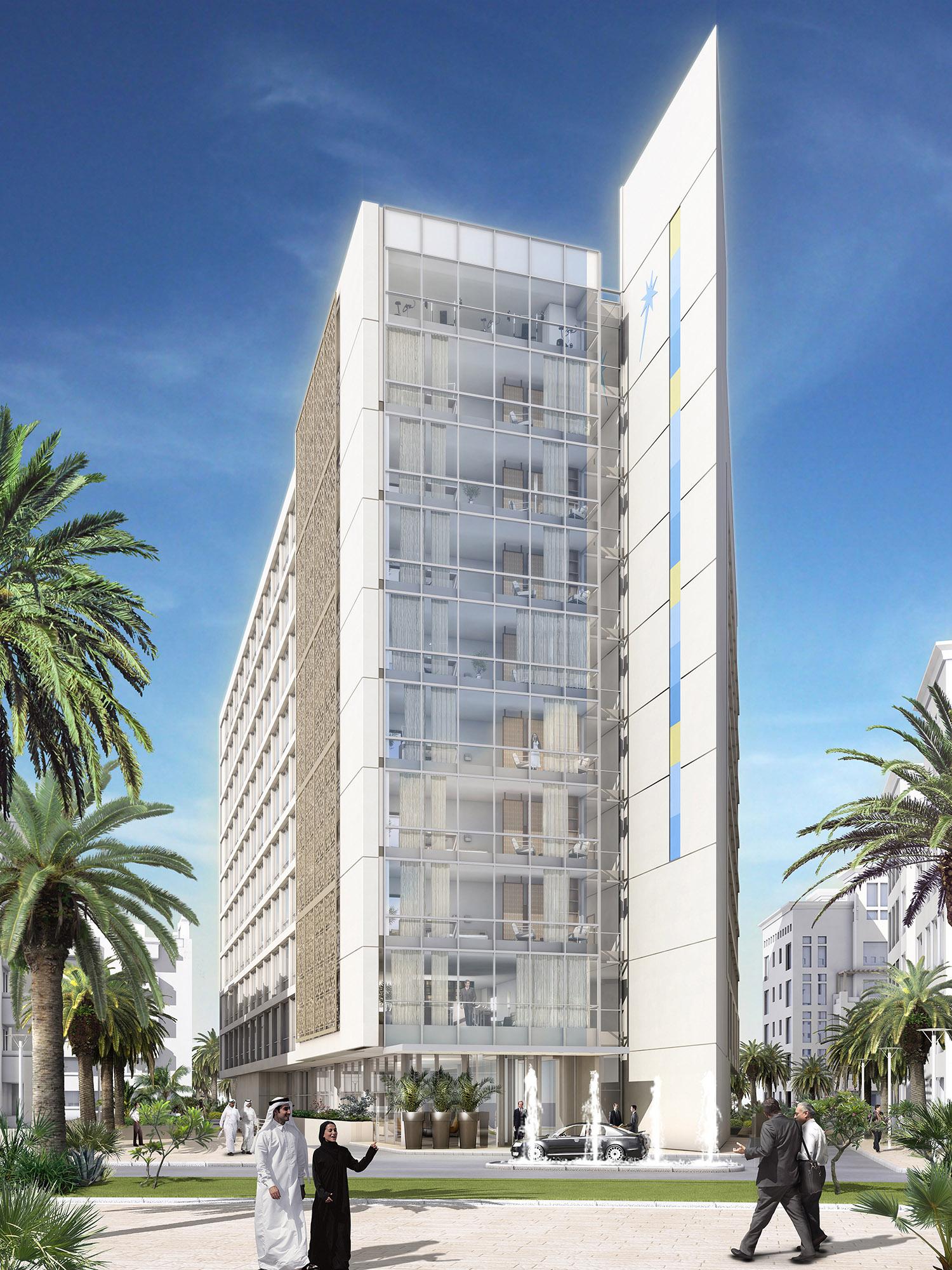 Lw design group alkhuwair hotel dubai homebase2 for Design hotel group