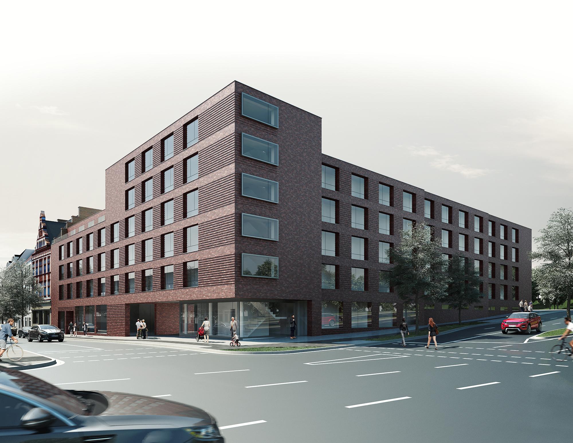 Architekten Mönchengladbach architekten bksp wettbewerb wohnbebauung mönchengladbach homebase2