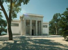 Mäckler Architekten - Deutscher Pavillion Biennale - Aussenansicht