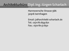 Architekturbüro Dipl. Ing. Jürgen Scharlach