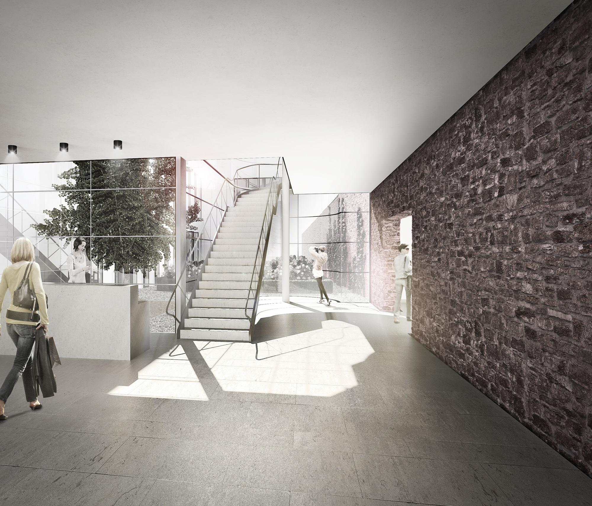 m ckler architekten romantikmuseum frankfurt am main. Black Bedroom Furniture Sets. Home Design Ideas