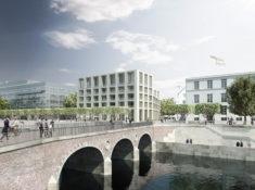 Architekten bksp - Wettbewerb Am Marstall - Hannover - 1.Platz!