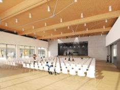 Hoch Tief - ARGE Errichtung Heinrich-Heine-Schule Buedelsdorf - Aula
