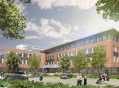 HochTief - Gesundheitszentrum Walsrode - Innenhofperspektive