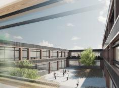 architekten bksp - Wettbewerb  - Berufsschule Moers